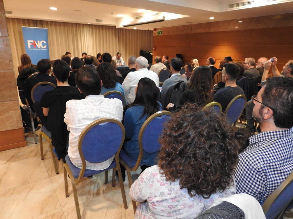 Presentació del FNC a Barcelona