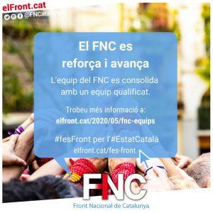 El FNC es reforça i avança