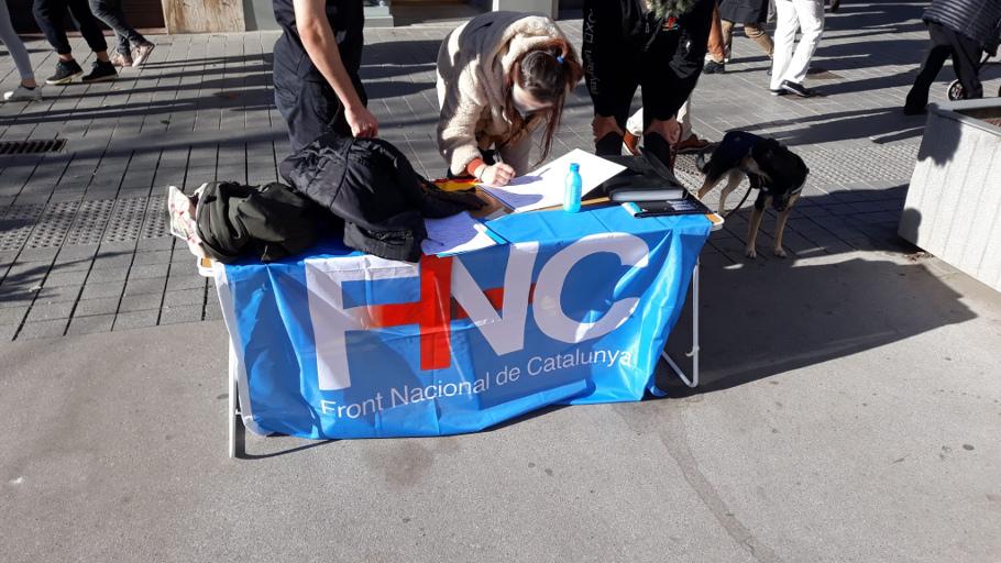 El FNC recull avals al carrer